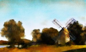 Windmill by fmr0