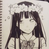 Fave anime in flower crowns by kawaiiapricot