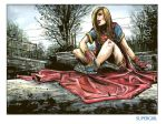 Supergirl by funrama