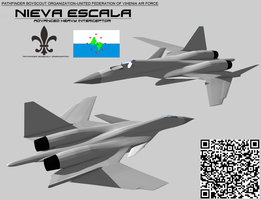 Nieva Escala Heavy Interceptor by Stealthflanker