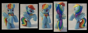 Show-Accurate Blindbag Rainbow Dash with Element by Gryphyn-Bloodheart