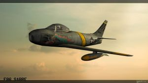 f-86 Sabre by MotoTsume