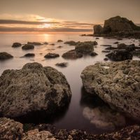 Sunrise over South Shields - SQR by Wayman