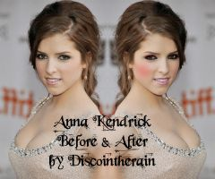 Anna Kendrick Before and after by OLIVIA15