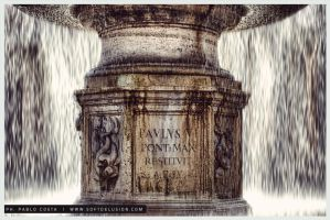 Vatican fountain by synth101