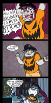 Obligatory Halloween celebratory comic by MichaelJLarson