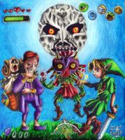 Majora's Mask Poster - Sogen by baberscamille