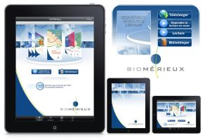 Biomerieux Interface Ipad by JFDC
