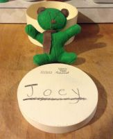 JOEY the first ever story bear! by LittleWolfDreamer