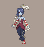 Squigly and Snake by Beezii11