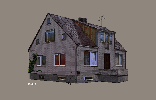 Pixel House #2 by zmoores