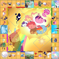 MLP Chubby Monopoly Board by MaybyAGhost