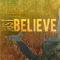 Just Believe CD Cover Cncpt 1 by madetobeunique
