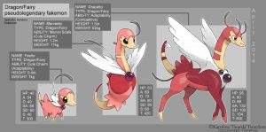 Fakemon - Fairy Dragons by Twarda8