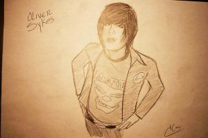 Oliver Sykes by d-elu