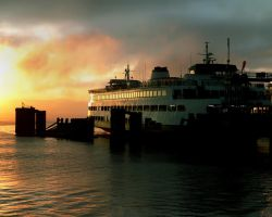 Early Morning Ferry by andras120