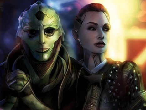 Thane and Jack by BoyGTO