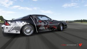 Forza 4 Sick Renamon muscle car styled painjob by Cameron7954