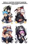 Soul Eater Postcards by flightangel
