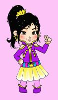 Racer Outfit for Vanellope - Colored by JulietTaylor