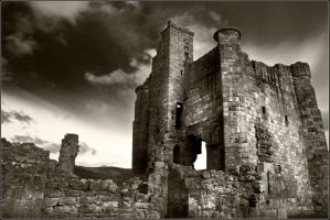 Edlingham Castle 3 by newcastlemale