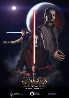 Legends of the old republic poster by Templado