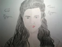 Two Sides Of Morgana by WhouffleJohnlock