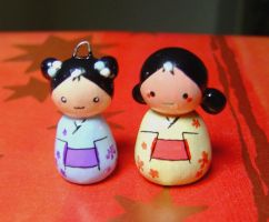 Japanese Dolls by janeybaby