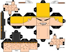 Cubbecraft Mr. Zsasz DC Super Heroes by handita2006