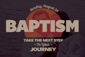 Baptism Church Postcard Template by loswl