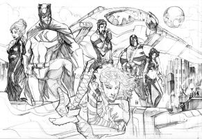 Secret Six by Peter-v-Nguyen