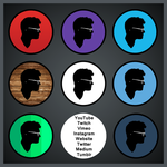 Profile Pic Icon Set - 2016 by kyle-culver