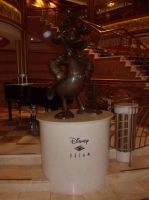Disney Dream Captain Donald Statue by MasterofWolves99