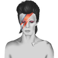 David Bowie by Seni-Ines