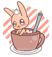 Chai Bunny Tea by Crystal-Moore