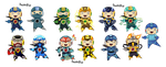 Most fav_Megaman Battle Network Forms by Doodlz18