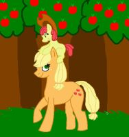 AJ and AB RQ by aquaheartthecat