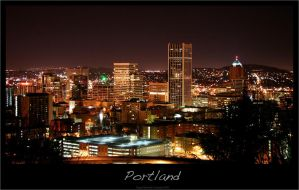 Downtown Portland by osiris24x