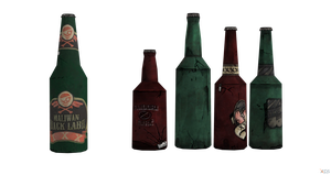 Borderlands 2 Xnalara model: Beer and Beer set by branch-san