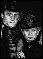 Thomas Sharpe and Edith Cushing by FreedomforGoku