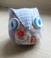 lil folded owl by shortenough