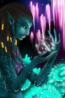 Neytiri Avatar - I see you by Yokufo