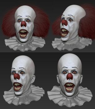 Pennywise (IT) by FoxHound1984