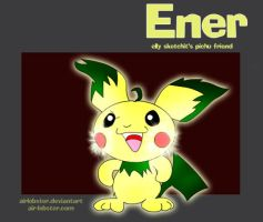 Ener the Pichu by airlobster