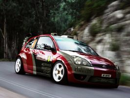Ford Fiesta WRC by GoodieDesign