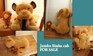 Jumbo Simba cub SOLD by Laurel-Lion