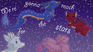 We're Gonna Reach for the Stars by GardevoirLoverHope
