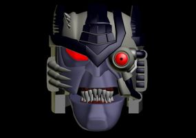 Wishmastered Dinobot II WIP 2 by WishmasterInRlyeh