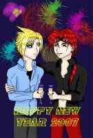 Happy New Year 2007 by nemuitenshi