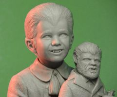 Eddie Munster Close-up by TrevorGrove